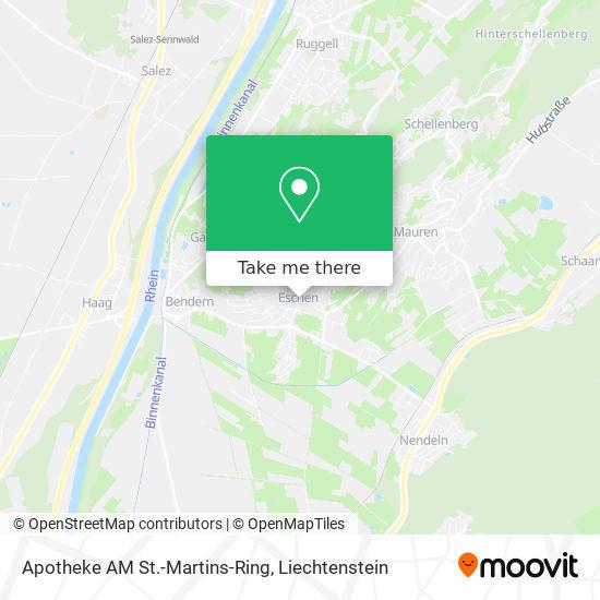 Apotheke AM St.-Martins-Ring map