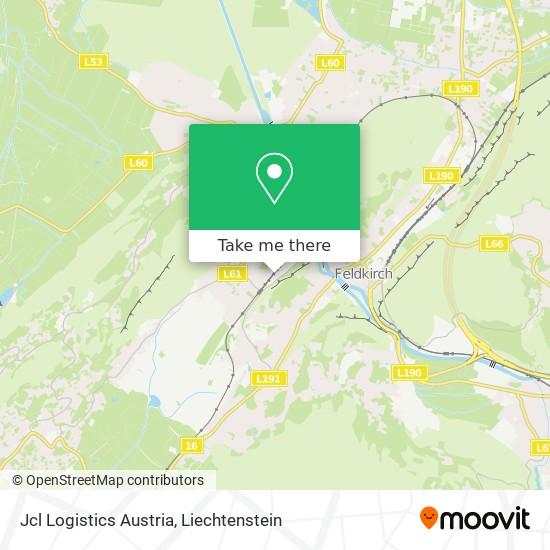 Jcl Logistics Austria map