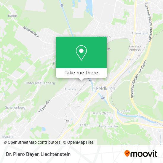 Dr. Piero Bayer map
