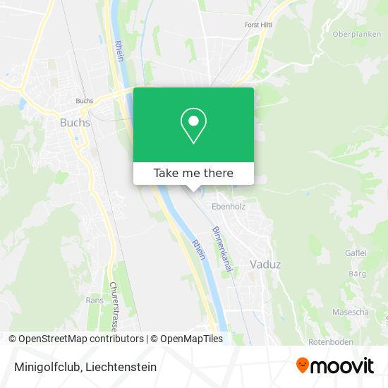 Minigolfclub map