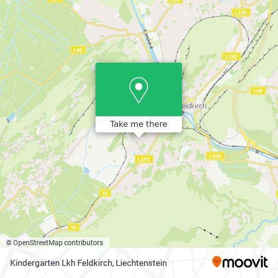 Kindergarten Lkh Feldkirch map
