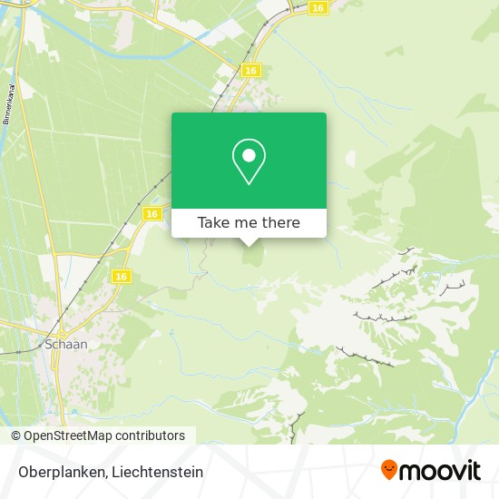 Oberplanken map
