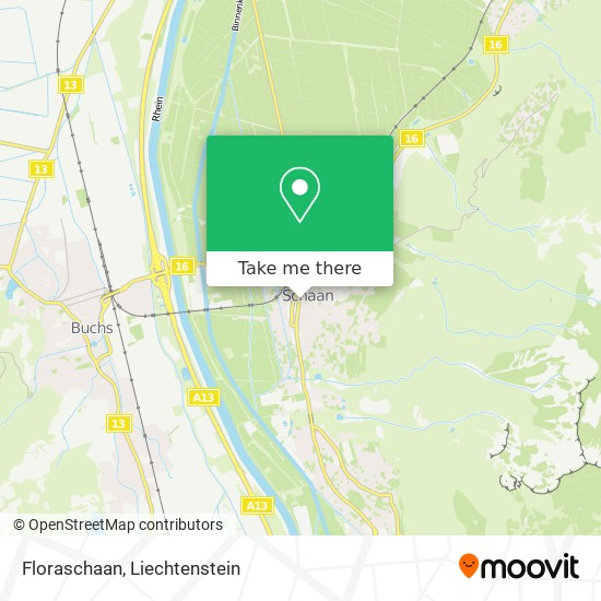 Floraschaan map