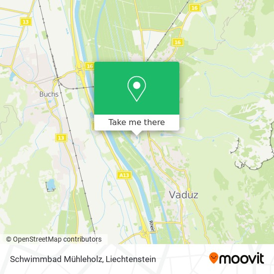 Schwimmbad Mühleholz map