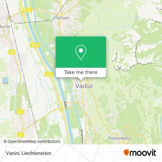 Vanini map