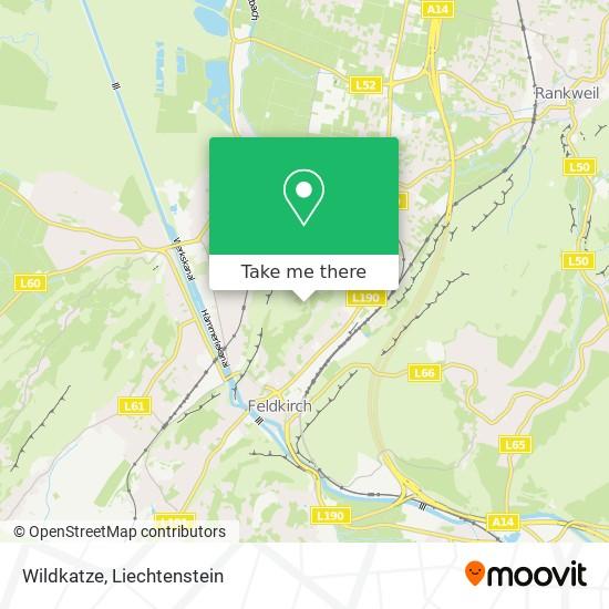 Wildkatze map
