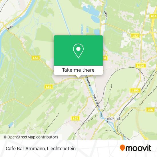 Café Bar Ammann map
