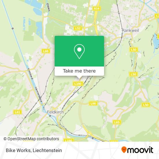 Bike Works map