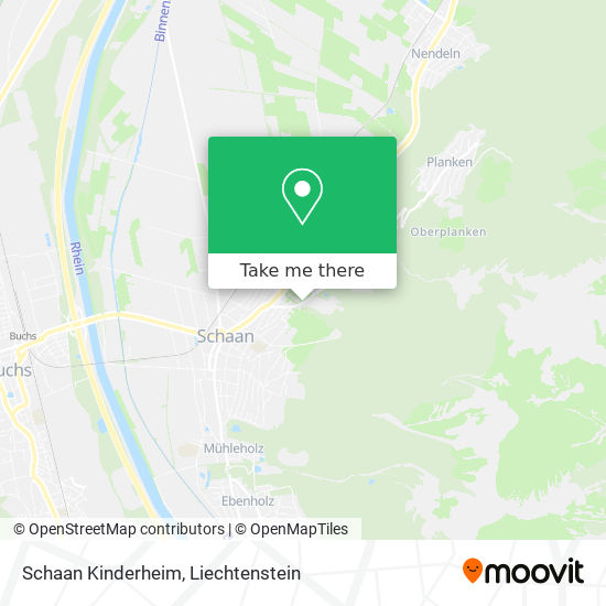 Kinderheim map