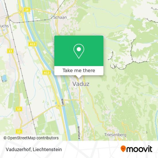 Vaduzerhof map