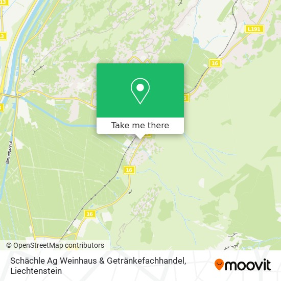 Schächle Ag Weinhaus & Getränkefachhandel map