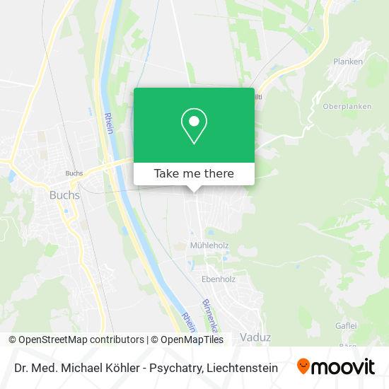 Dr. Med. Michael Köhler - Psychatry map