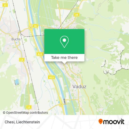 Chesi map