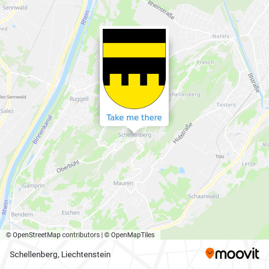 Schellenberg map