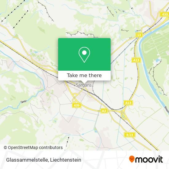Glassammelstelle map