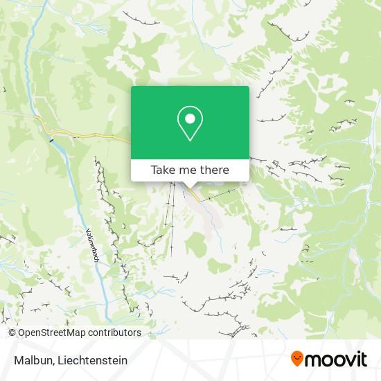 Malbun map