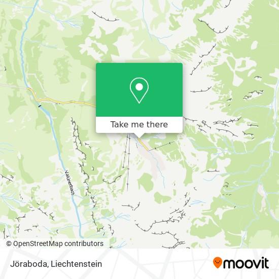 Jöraboda map