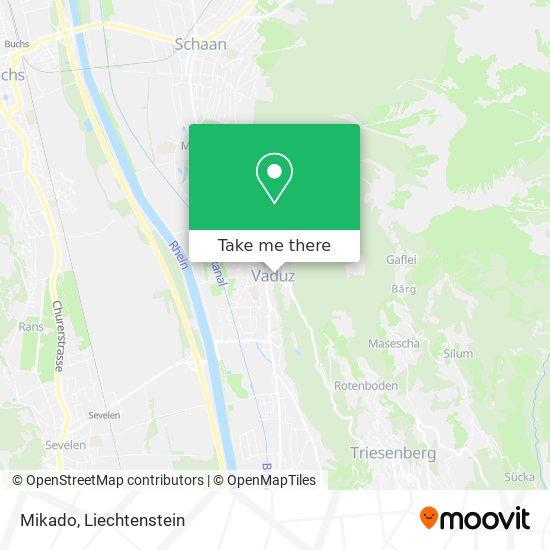 Mikado map