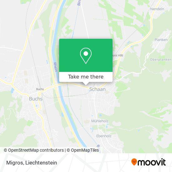 Migros map