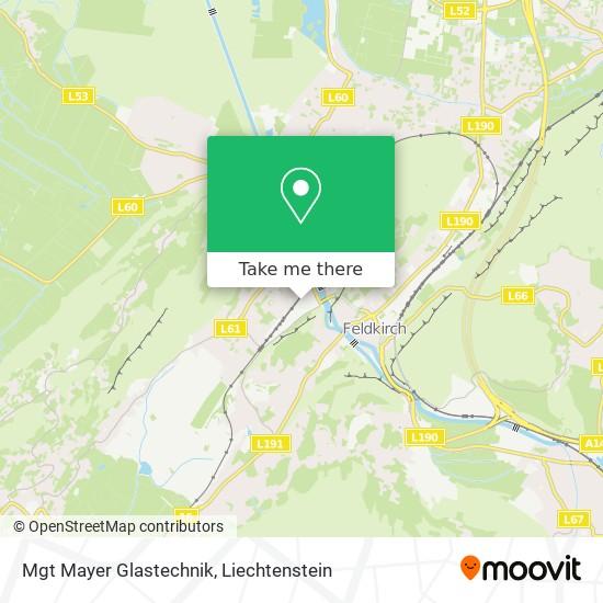 Mgt Mayer Glastechnik map