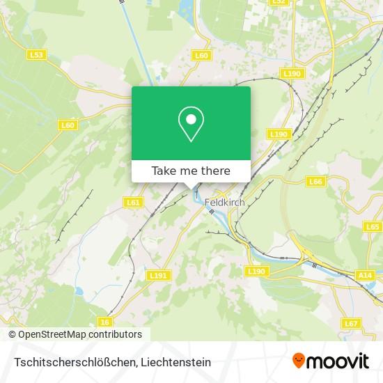 Tschitscherschlößchen map