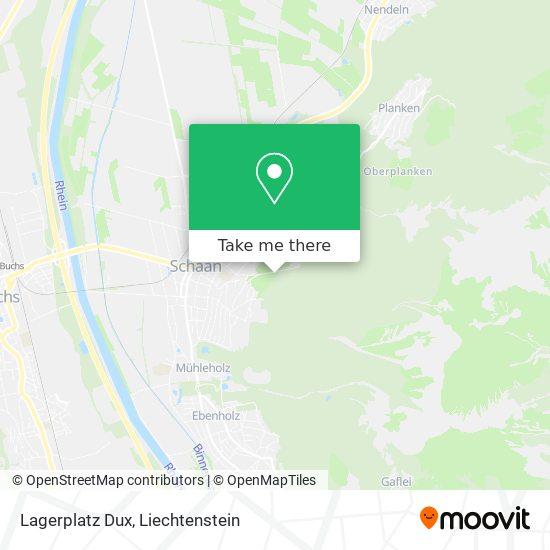 Lagerplatz Dux map