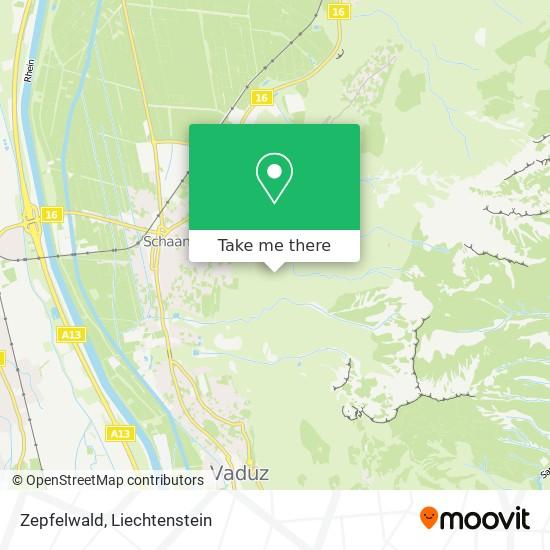 Zepfelwald map