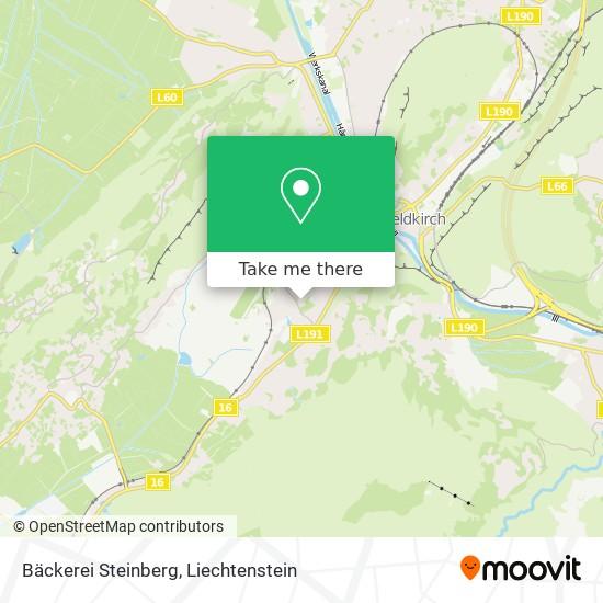 Bäckerei Steinberg map