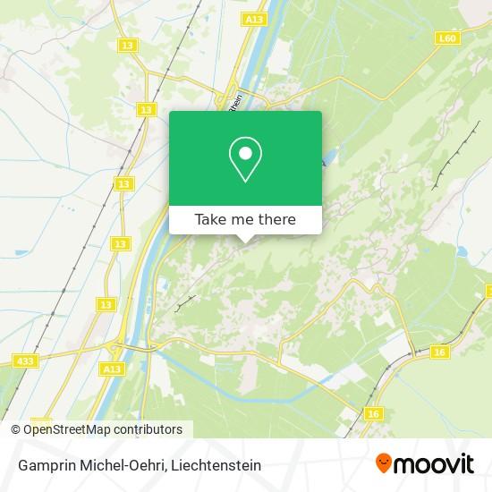 Gamprin Michel-Oehri map