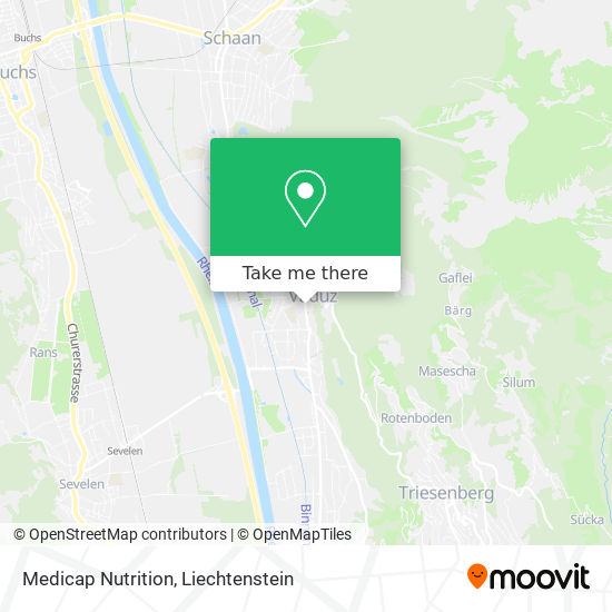Medicap Nutrition map