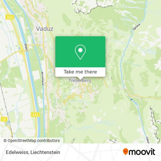 Edelweiss map
