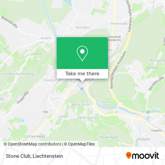 Stone Club map