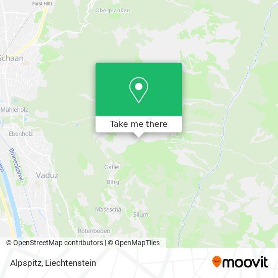 Alpspitz map