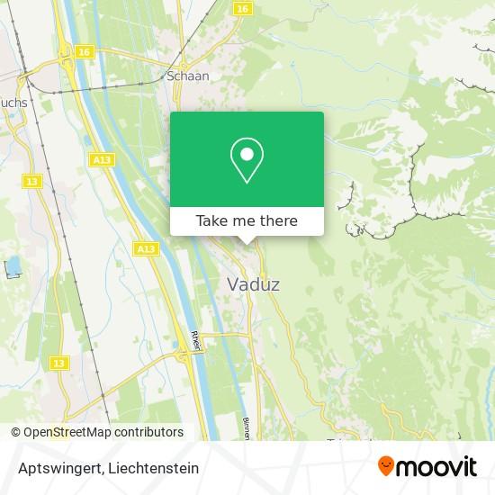 Aptswingert map