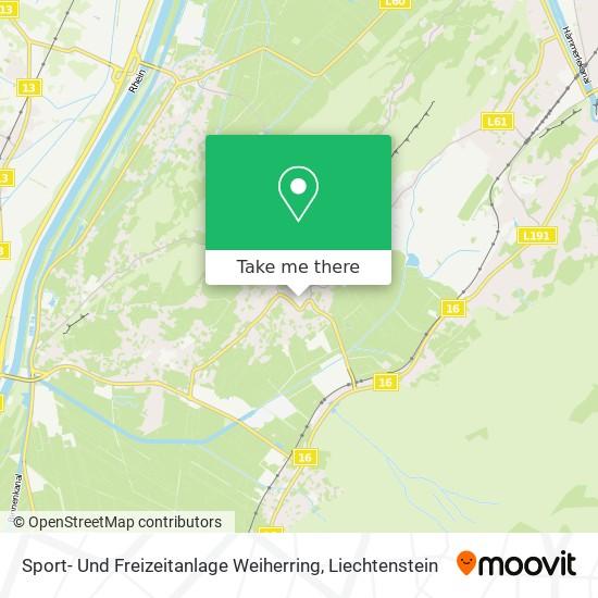 Sport- Und Freizeitanlage Weiherring map
