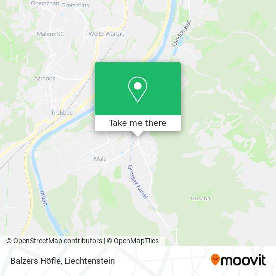 Höfle map