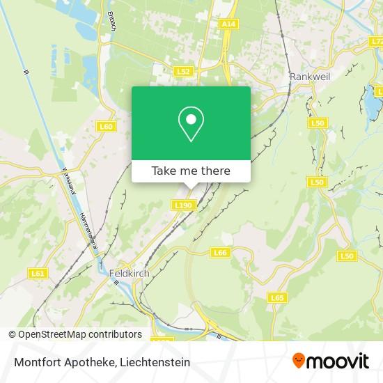 Montfort Apotheke map