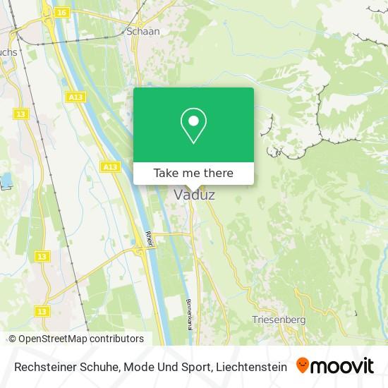 Rechsteiner Schuhe, Mode Und Sport map
