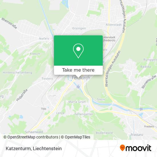 Katzenturm map