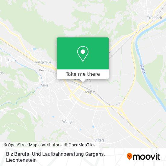 Biz Berufs- Und Laufbahnberatung Sargans map