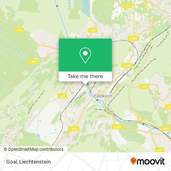Goal map