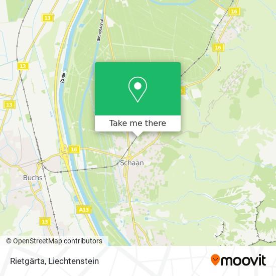 Rietgärta map