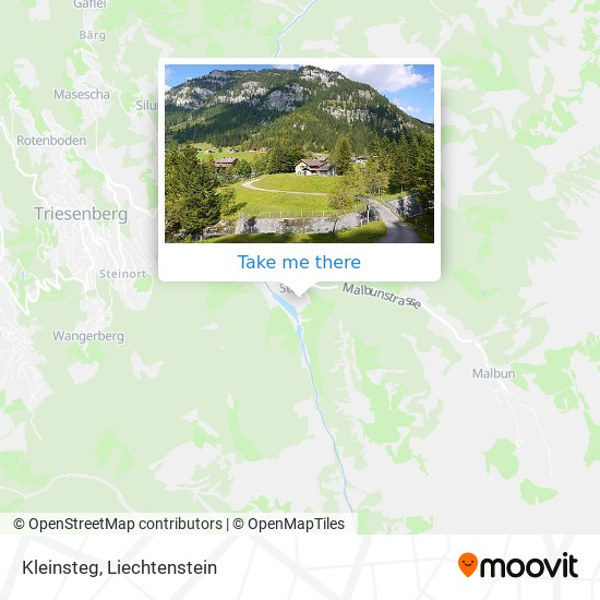 Kleinsteg map