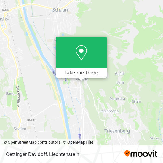 Oettinger Davidoff map