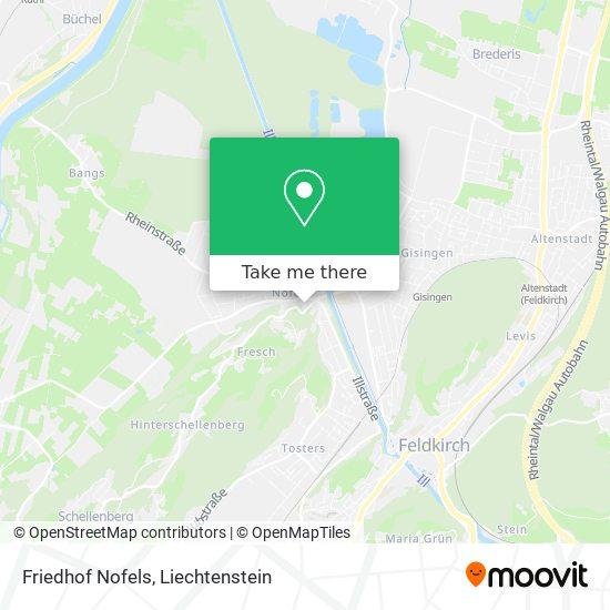 Friedhof map