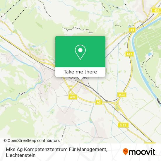 Mks Ag Kompetenzzentrum Für Management map