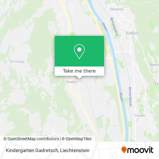 Kindergarten Gadretsch map