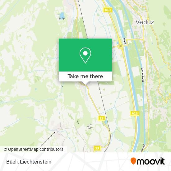 Sevelen, Büeli map