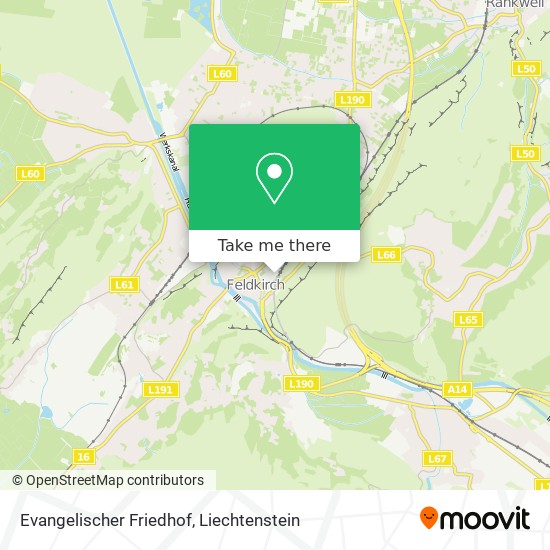 Evangelischer Friedhof map