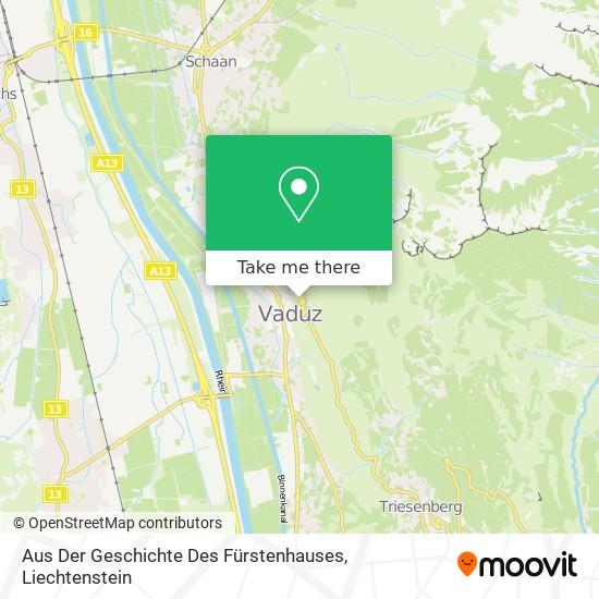 Aus Der Geschichte Des Fürstenhauses map